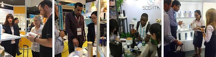 Exhibition of Scenta Team-Auto Soap Dispenser Factory